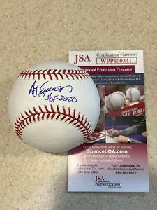 Ted Simmons signed OML baseball w/ HOF 2020 ** JSA **