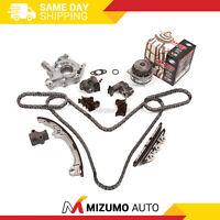 Timing Chain Kit Water Oil Pump Fit Infiniti QX4 Nissan Pathfinder 3.5L VQ35DE