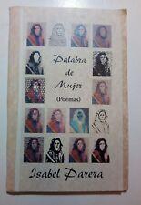 Palabra de Mujer Poemas por Isabel Parera Cuba Puero Rico 2000