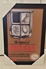 Legend of Zelda NES cover framed picture 19X13 Brand NEW OFFICIAL NINTENDO