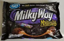 NEW MILKY WAY MIDNIGHT DARK CHOCOLATE FUN SIZE 10.65 OZ FREE WORLDWIDE SHIPPING