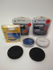 Cameras Accessories LOT 7pc Filters and caps Tiffen, promaster, quantaray