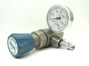 Airgas Y12-N145B Single Stage Gas Regulator - Missing Gauge
