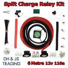 6M Split Charge Relay Kit Voltage Sensitive - Camper Van Conversion Campervan