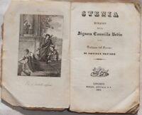 CAMILLE BODIN STENIA ROMANZO ANGIOLO ORVIETO 1841 INCISIONE COMPLETO