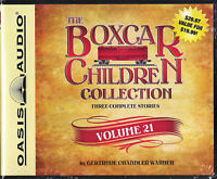 NEW The Boxcar Children Collection Volume 21 Unabridged 6 CDs Audio Book 3 Story