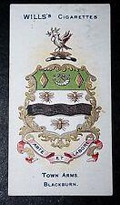 BLACKBURN   Lancashire   Coat of Arms   Original 1905 Vintage Card