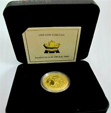 1999 CANADA $200 DOLLARS GOLD COIN 1/2 Oz Butterfly The Mi' kmaw  TRIBE