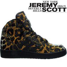 timeless design 268a4 9518c adidas Originals Mens Jeremy Scott Instinct Leopard High Tops Trainers - 4uk