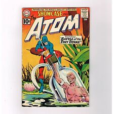 SHOWCASE #34 Key DC issue: 1st Silver Age ATOM appearance! Grade 4.5