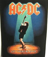 """AC/DC RÜCKENAUFNÄHER / BACKPATCH # 9 """"LET THERE BE ROCK"""""""