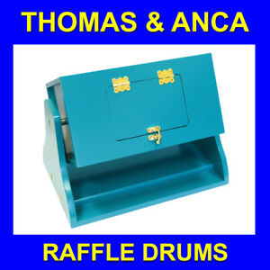 Raffle Tombola Lotto Draw Drum for Raffle Tickets Balls discs Office Furniture G
