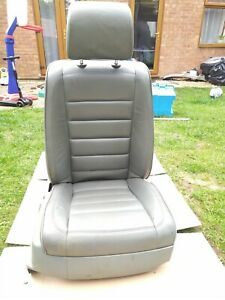 VW TOUAREG MK1 03-07 FRONT RIGHT SIDE LEATHER SEAT