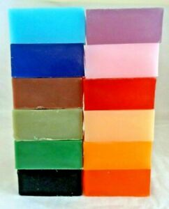2 x HAND MADE NATURAL VEGAN SOAP BARS WITH FRAGRANCE 2 x 130g bars