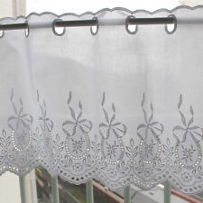 1y Embroidered cotton lace Window Valance curtain yh771 (90x35.5cm) laceking2013