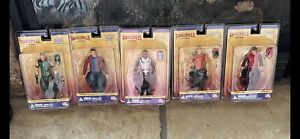Smallville Series 2 Justice Ep.Action Figures Complete Set of 5 New In Packaging