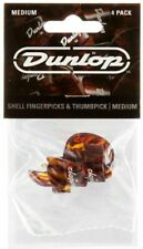 Jim Dunlop 9010TP 3 Finger Picks and 1 Thumb Pick Medium Player Pack