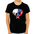 American Eagle Shirts for Boys American Flag Patriotic Shirts 4th of July Shirts