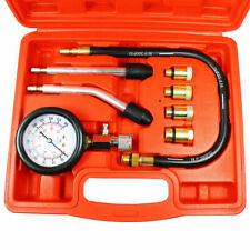 8 Pcs Petrol Engine Cylinder Compression Tester Kit Gauge Tool Automotive