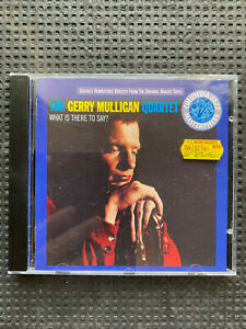 THE GERRY MULLIGAN QUARTET - WHAT IS THERE TO SAY? CD free post in uk