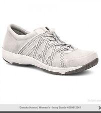 Dansko Tennis Shoes Suede Leather Sneaker Women's Standing Walkin Sz 40 US 9.5
