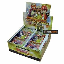 Cardfight Vanguard: Raging Clash of the Blade Fangs G-BT10 Booster Box: 30 Packs