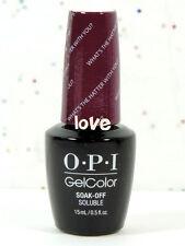 OPI GelColor #2 - Brand New Gel Color Soak Off UV/LED Choose Any Gel Polish