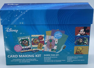DC Disney Card Mickey , Woody, Phoo Bear making Kit 20 Cards New Sealed Craft