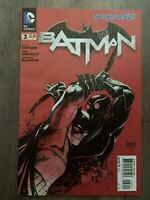 Batman 3 2nd Print New 52 Capullo Snyder 1st Cameo Court of Owls DC Comics