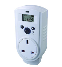 Thermostat - Plug in Thermo Guard Digital Control TH-928T Greenhouse Shed Garage
