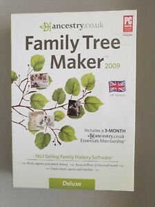 Who Do You Think You Are? - UK Delux Version - Family Tree Maker - PC / Windows