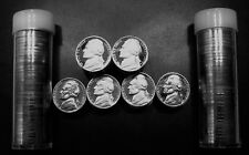 1968-1979-S Jefferson Nickel Gem Proof Roll US Mint Lot from proof Sets .