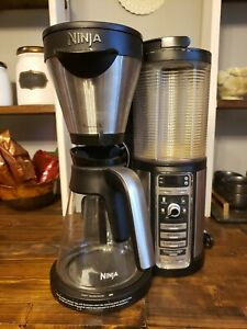 Ninja - Coffee Bar Brewer CF080 with Glass Carafe - Stainless Steel/Black