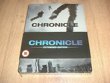 Chronicle Extended Edition Blu-Ray Steelbook NEU mit Prägung (embossed front)