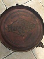 Very Rare Vintage * MONA MOTOR OIL * 5 Gallon ROCKER CAN -- 1920's ---- gas sign