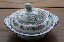 Antique 19 Th C   Minton china  Vegetable dish - Légumier   Indian tree design