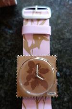 Colección de sellos Reloj Francés Natural Cara Zen como S.t.a.m.p.s. Correa De Cuero