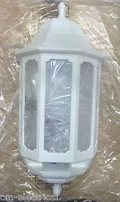 ASD HL/SETT. 4 LED 600 Hilo MEZZA LANTERNA LED 110 PIR Sensore (Bianco)