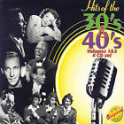 NEW Hits Of The 30's & 40's, Vol. 1 & 2 CD (CD) Free P&H