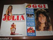 OGGI 1973/18=MARIA SCHNEIDER=BAGHEERA=SAN GILLO=CANCOGNI=NICO FIDENCO=RODDI=