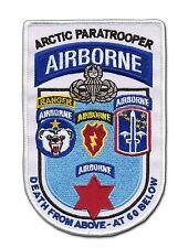 US Paratrooper - US Airborne - Arctic Paratrooper - Alaska Airborne - US Ranger