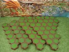 Grass 24-Hex Tile X4 Heroscape Terrain