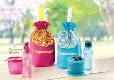New Tuppereware Eco Bottle 310ml (2) Snack-N-All 550ml (2)