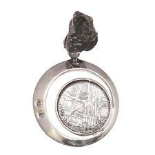 Sterling Silver Moldavite, Muonionalusta & Campo deCielo Meteorite-Starborn EP39