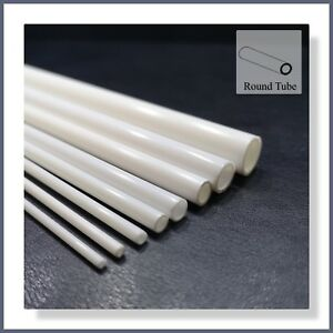 ABS Styrene 8pcs Mixed Round Tube - Suitable for all Model Making