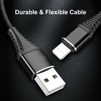1M Fast Charger Data Sync USB Cable for iPhone 6 7 8 2.4A Lightning to USB Cable