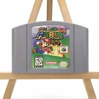Super Mario 64 Nintendo 64 N64 Game Authentic Tested & Working Cleaned