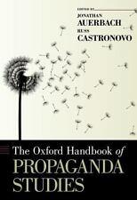 The Oxford Handbook of Propaganda Studies (Oxford Handbooks),