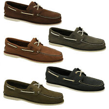 Timberland Classic Boat Shoes 2-Eye Deck Shoes Men Shoes