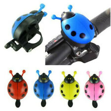 Bicycle Ladybug Kids Bell Ladybird Alarm Bike Metal Handlebar Horn Multi-Color